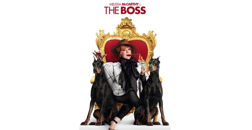 The boss: la nuova commedia con Melissa McCarthy dal 16 giugno al cinema!