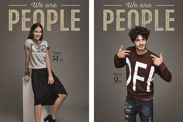 We are People: la nuova campagna Piazza Italia
