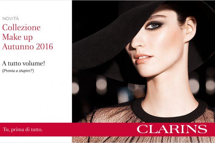 Make up, la collezione Clarins Autunno Inverno 2016/17: A tutto Volume!