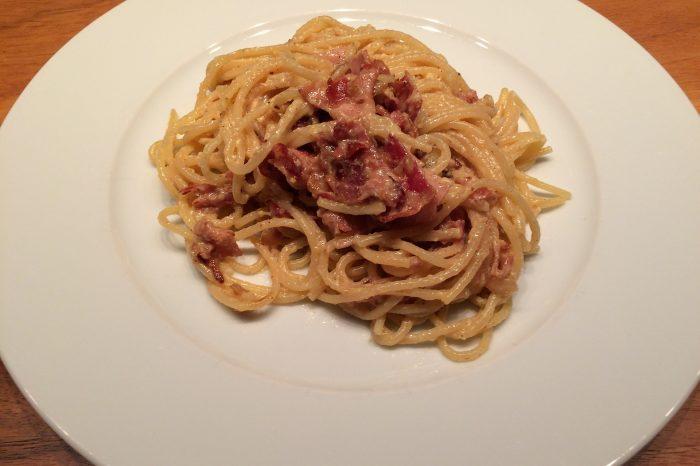 Le ricette di BELLA: Spaghetti alla Carbonara