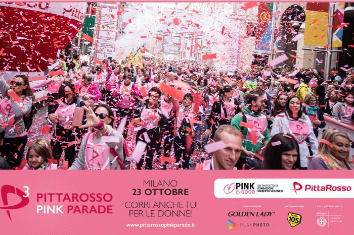 PittaRosso Pink Parade: una corsa tra donne... per la prevenzione!