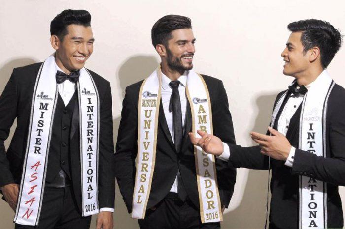 """""""Mister Universal Ambassador"""": Andrea Biondo dalla Sicilia a Bali si classifica al 3° posto"""