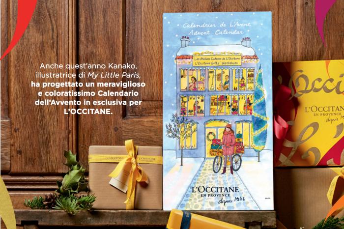 Il Natale sta arrivando: il calendario dell'avvento con i regali di L'OCCITANE