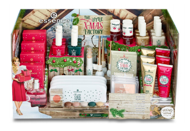 "Natale con essence: la collezione ""The little x-mas factory"""