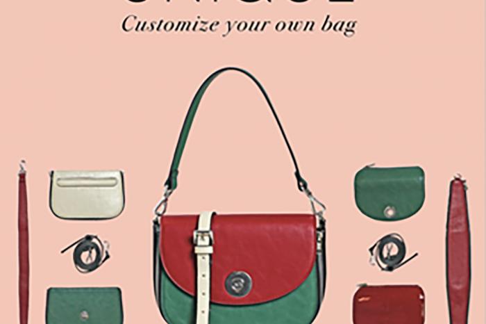 Carpisa UNIQUE: da oggi puoi comporre e personalizzare la tua borsa