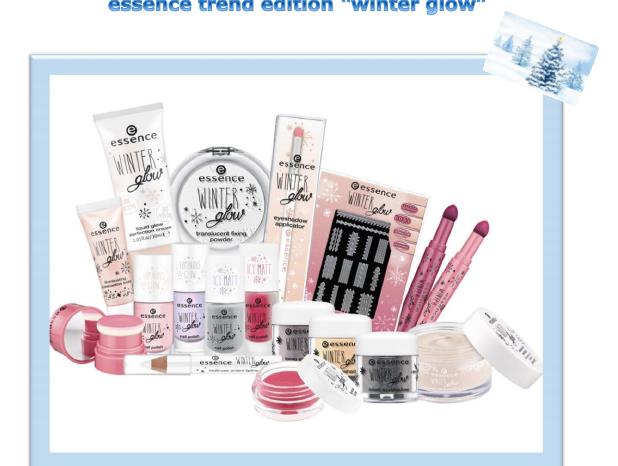"La trend edition essence ""winter glow"""
