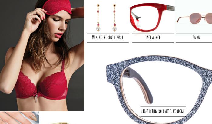 Risplendi durante le feste! Gli accessori glitter, oro, argento e rosso