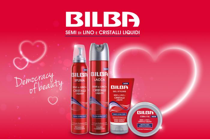 Bilba: la linea capelli dedicata a San Valentino