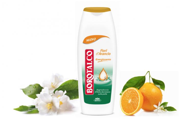 Bagnodoccia Borotalco: la nuova fragranza ai fiori d'arancio