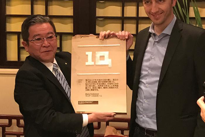 Tokyo, la pasta italiana Girolomoni festeggia 10 anni in Giappone